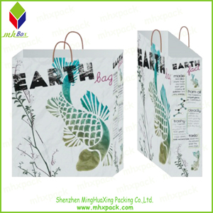 Wholesale Paper Carrier Gift Fashion Bag