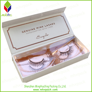 Foldable Packing Gift Eyelash Box with Magnet