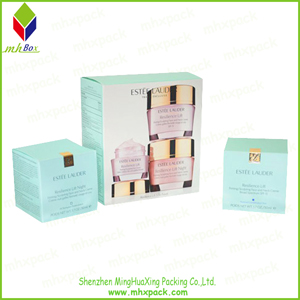 Customized Set Cosmetic Packaging Cardboard Box