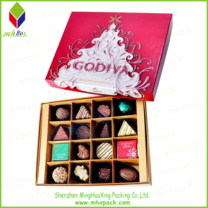 Lid and Base Packaging Paper Chocolate Box