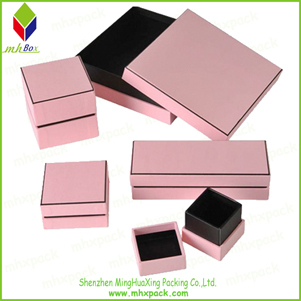 Luxury Lid and base Packing Gift Jewelry Box