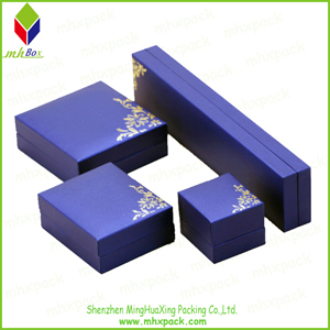 Luxury Hot Stamping Set Jewelry Packaging Box