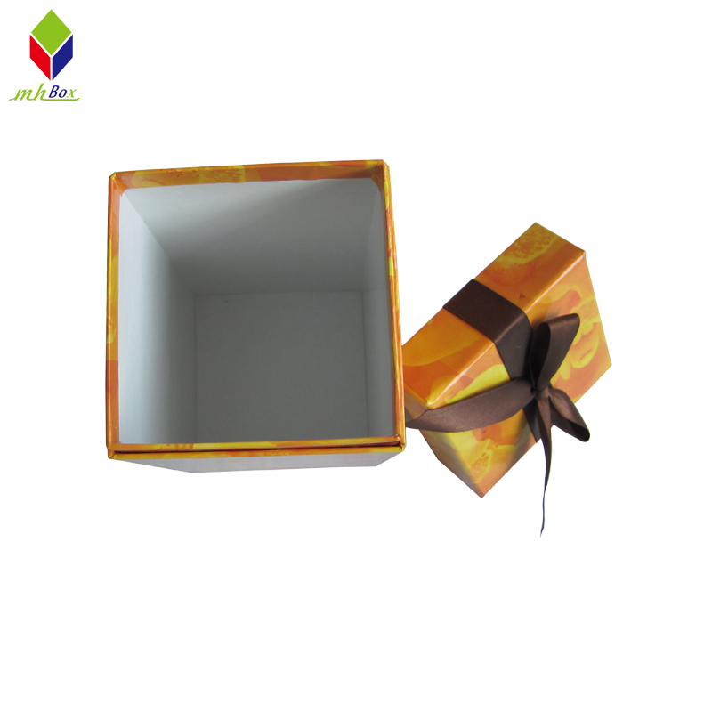 Square Tube Lid and Base Gift Box for Cosmetic/Tea Packaging