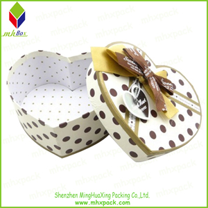 Heart-Shaded Packaging Paper Gift Chocolate Box