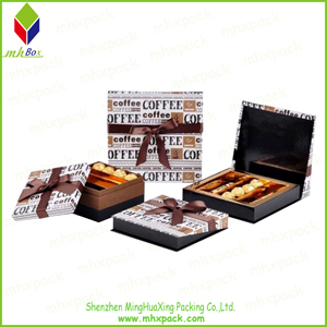 Heavy Color Printing Paper Chocolate Storage Box