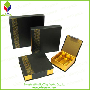 Foldable Gold Stamping Gift Chocolate Packaigng Box
