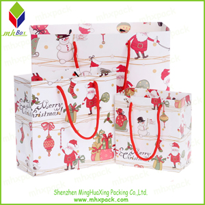 Paper Packaging Bag for Christmas Gift