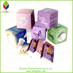 Colorful Candle Packing Gift Cardboard Box