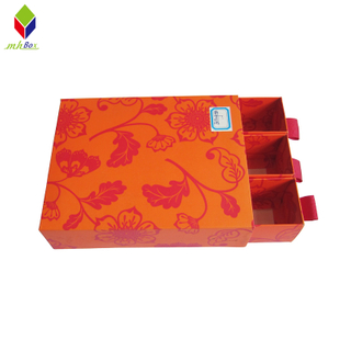 New Cosmetic Packaging Box Rigid Cardboard Drawer Boxes