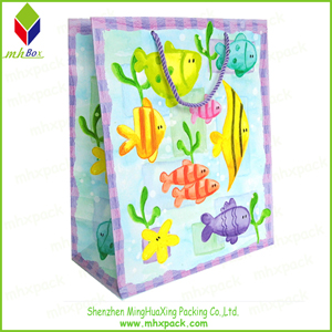 Cute Color Printing Gift Packaging Bag