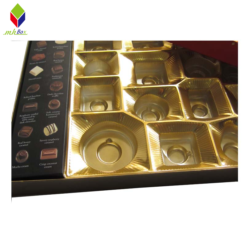 Luxury Lid and Base Chocolate Packaging Gift Box
