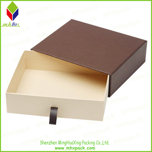 white Slide Packing Gift Paper Box