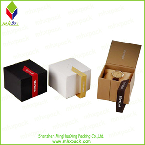 High-End Rigid Paper Gift Packaging Watch Box