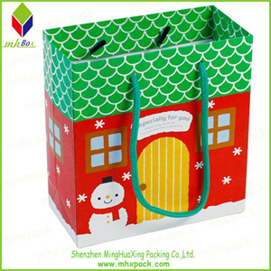 Colorful Packing Paper Carrier Bag